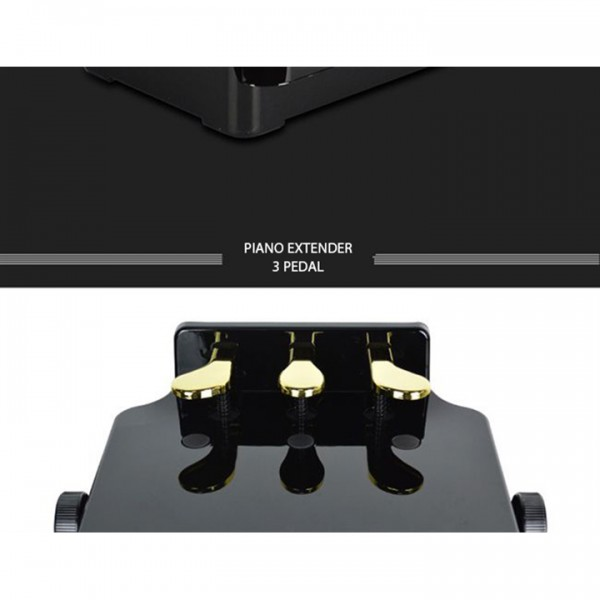 PIANO PEDAL EXTENDER (BỤC NỐI PEDAL CHO TRẺ NHỎ HỌC PIANO) - 3 PEDALS